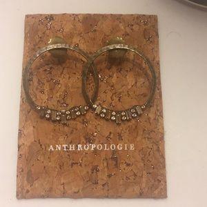 Anthropologie Hoop earrings